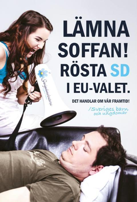 Sverigedemokraterna vässar EU-kampanjen