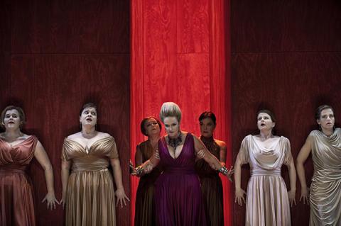 Marianne Eklöf och Kungliga Operans Kör