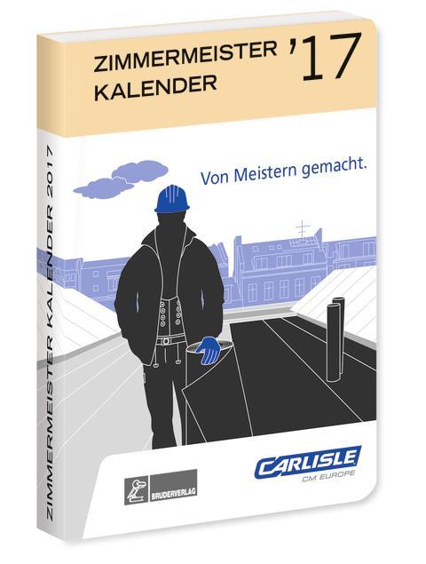 ZIMMERMEISTER KALENDER `17