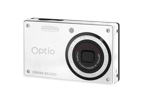 Pentax Optio RS1000 valkoinen