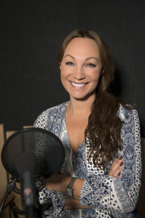 Charlotte Perrelli om sina missfall i podden Freja som produceras av Danderyds sjukhus
