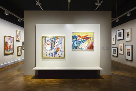 Asger Jorn og Edvard Munch mødes i unik udstilling i Oslo
