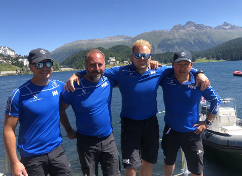 Extend Sailing Team femma i finalen av Sailing Champions League