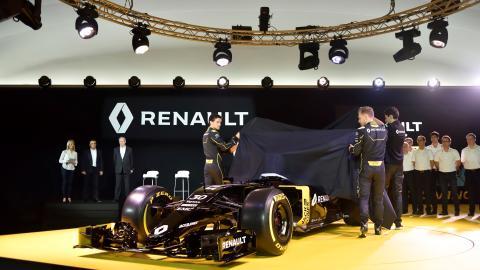 Renault F1 avtäckning