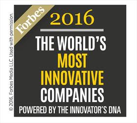 For sjette år på rad har Forbes oppført KONE som et av verdens mest innovative selskaper
