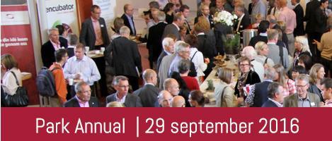 Digital hälsa, internationalisering och finansiering temaområden under Park Annual 29 september