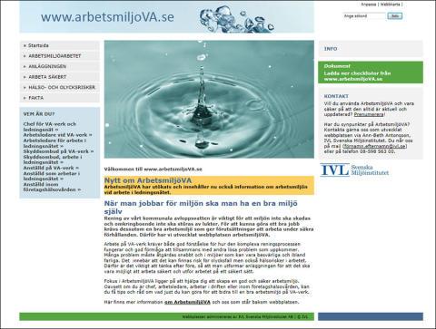 SVU-rapport C_IVL2015-B2223: ArbetsmiljöVA – Arbetsmiljöverktyg om arbetsmiljö i ledningsnätet (rörnät och klimat)