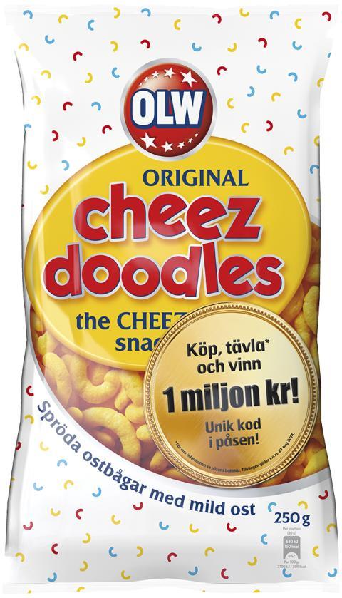 Cheez doodles miljon