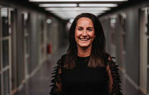 Malin Wiberg berättar om sin roll som enhetschef för 7A Posthuset