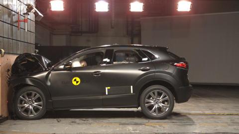 Mazda CX-30 hits new high in Euro NCAP impact testing