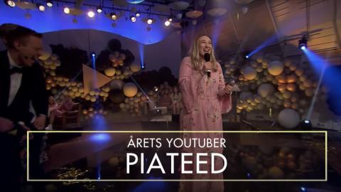 PIATEED MARIA STAVANG KÅRET TIL ÅRETS YOUTUBER 2018
