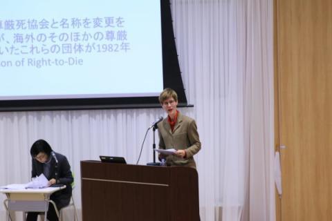 【Event】ハーバード大学教授による講演会「終末期ケアの葛藤」を開催しました