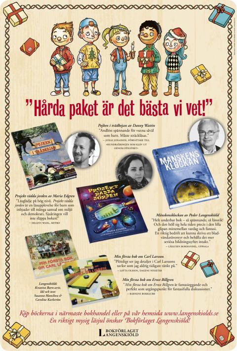 God Jul och Gott Nytt År önskar vi på Langenskiölds!