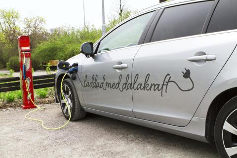 Provkör elbilar och elcyklar