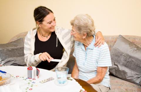 Hemtjänsten får toppbetyg i ny brukarundersökning