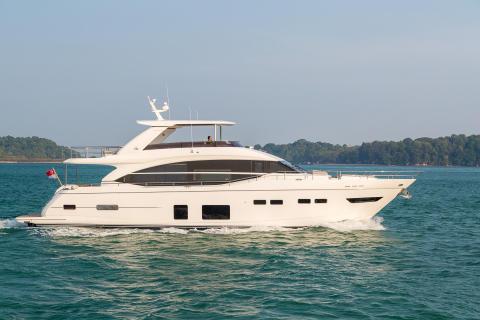 High res image - Princess Motor Yacht Sales - Princess 75 exterior