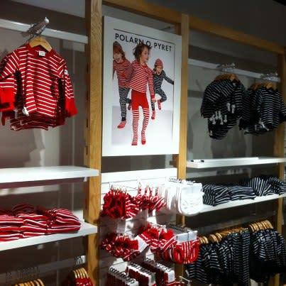 Interiör PO.Ps nya butik i Eindhoven