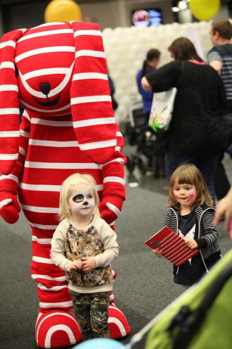 Baby & Barn 2014: Polarn O Pyret-nallen gladde barnen under mässan