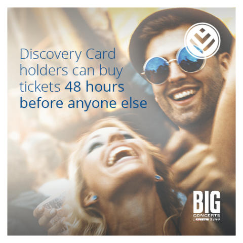 Big Concerts and Discovery partner to bring South Africa exclusive access to music and events