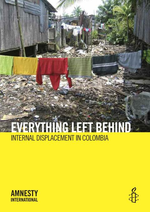Colombia Displacement - Report ENG