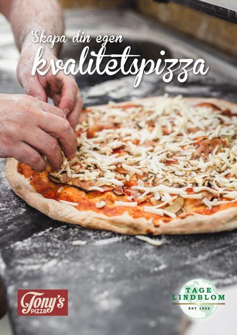 Skapa din egen kvalitetspizza!