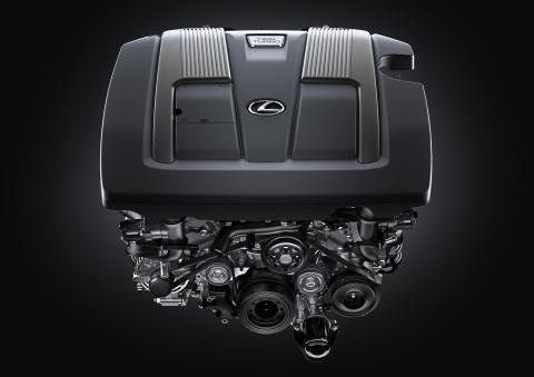 Lexus LS 500 med en helt ny motor