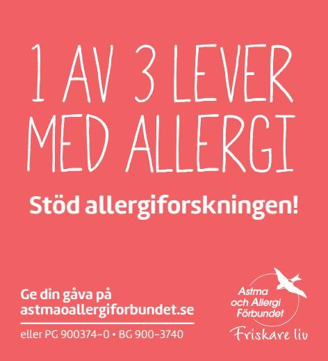 Pluggannons allergiforskning