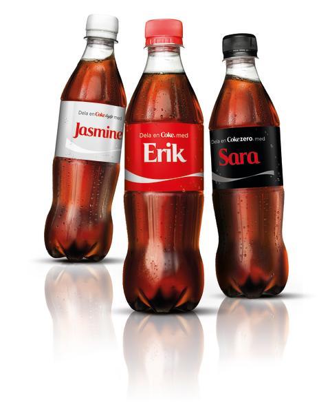 Dela en Coke
