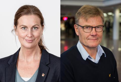 Jennie Enström och Stig Montin får 2019 års Axelpris