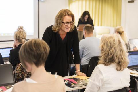 Anna Ålund, verksamhetschef UHR Utbildning AB som arbetar med validerin av yrken inom hotell- och restaurangbranschen