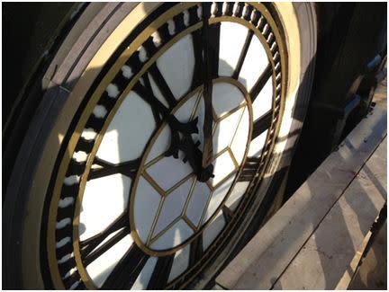 Burton Town Hall Clock Restoration Work