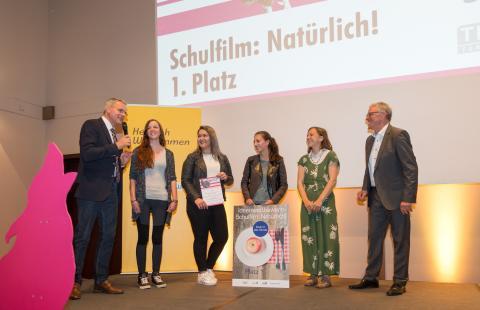 1. Platz: Klasse 12a des Beruflichen Schulzentrums (FOS) Kelheim