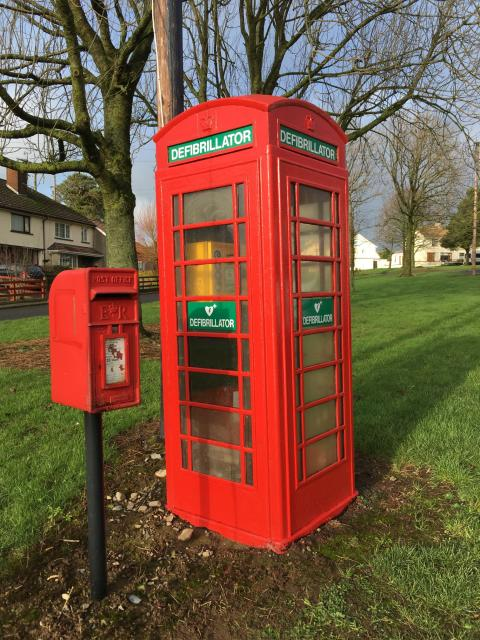 BT offers communities the chance to 'adopt' their local phone box for just £1 .