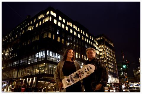 P.U.S.H – En urban mötesplats med skateboardpark öppnar i Gallerian