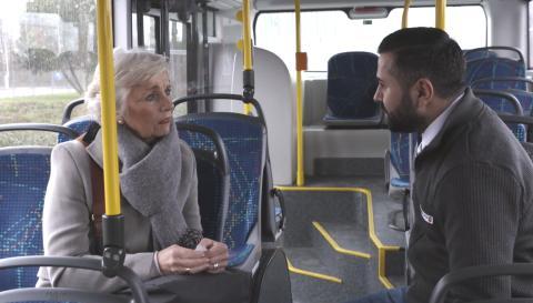 Fahrgäste mit Demenz: neue Schulung für Verkehrsbetriebe