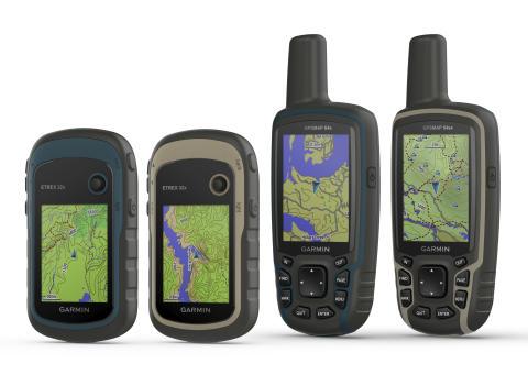 Garmin® GPSMAP 64x/64sx og eTrex 22x/32x