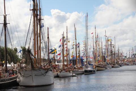 Lördagens höjdpunkter på The Tall Ships Races