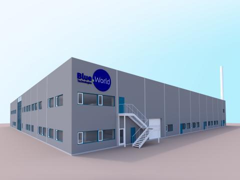 Blue World Technologies_methanol fuel cell factory