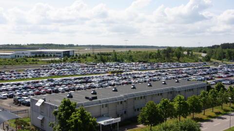 Parkering, Stockholm Arlanda Airport