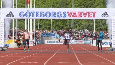 Banrekordhållarna klara för start i Varvet