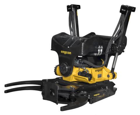 """Engcon lanserar ny tiltrotator för grävmaskiner upp till 33 ton – """"Engcons kraftfullaste tiltrotator hittills"""""""