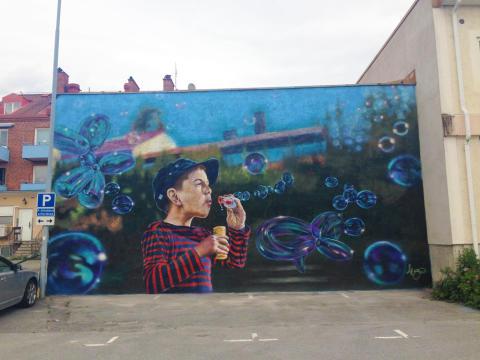 Paint the City lockar turister till Lindesberg