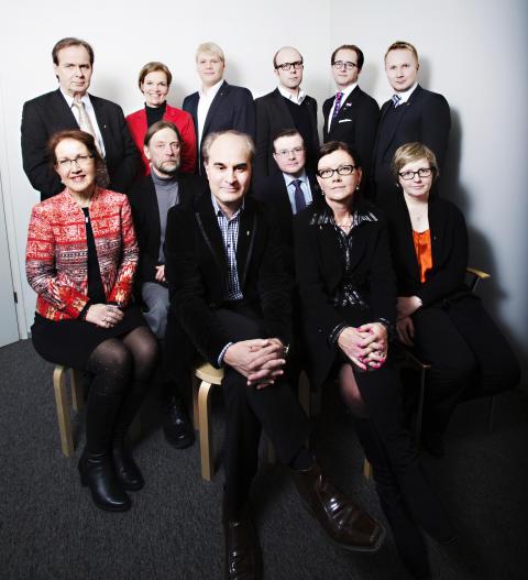 SEFEn hallitus 2014-2015