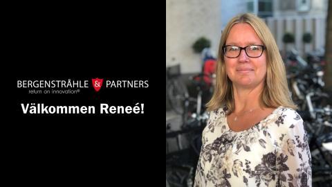 Reneé Åhlund är ny IP-koordinator på Bergenstråhle & Partners