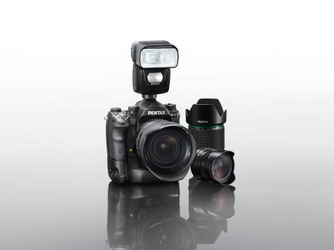 Pentax K-1 udstyr, gruppebillede