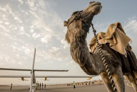 SolarImpulse flyver fra Marokko til Madrid - følg flyvningen live!