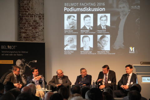 Podiumsdiskussion BELMOT Fachtag 2016