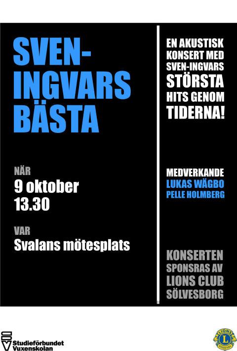 Sven-Ingvars uppskattade musik spelas på samtliga särskilda boende och de öppna mötesplatserna