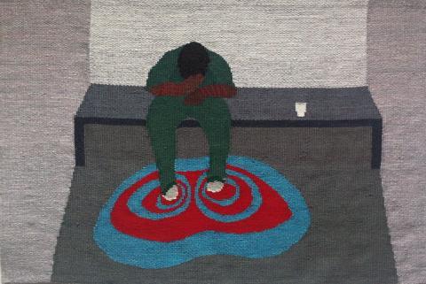 Utställning Anna Olsson på Konstnärscentrum Väst under Kulturnatta.