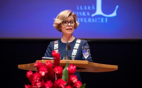 Birgitta Bergvall-Kåreborn, akademisk högtid 2019